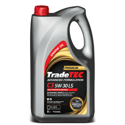 5W30 Fully Synthetic Dexos 2 Engine Oil 25L 25 Litre 5W-30 ACEA C3 TradeTec