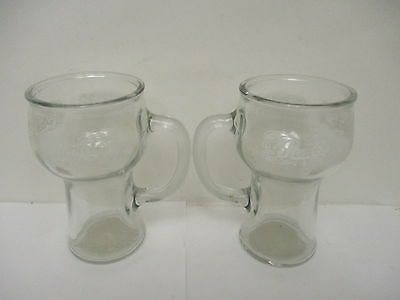 Pepsi Cola Drinking Mugs (2) 16oz Size