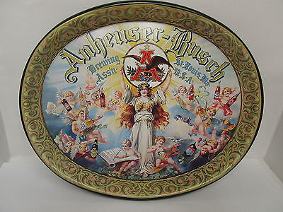 Serving Tray Anheuser Busch Brewing Assn. St. Louis Mo.   Classic  Vintage