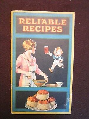 Antique: Reliable Recipes Cook Book by Calumet Baking Co.