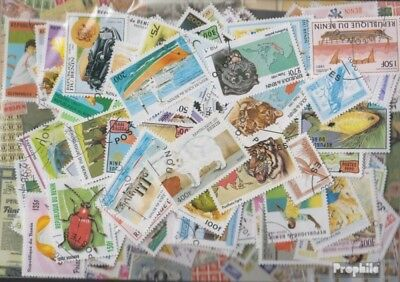 Benin 300 different stamps