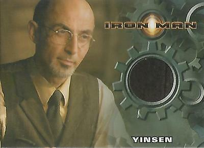 "Iron Man Movie - Shaun Toub ""Yinsen's Vest"" Costume Card"