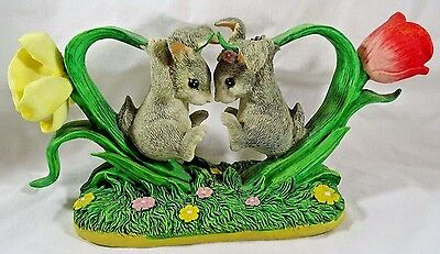 Charming Tails Figurine Bunny Buddies Easter