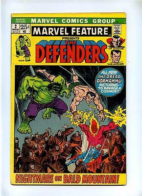 Marvel Feature #2 - Marvel 1972 - VG+ - 2nd App The Defenders