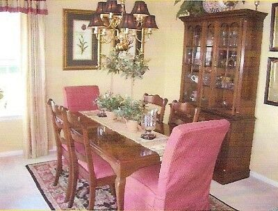 Cherry Dining Room Set with China Cabinet