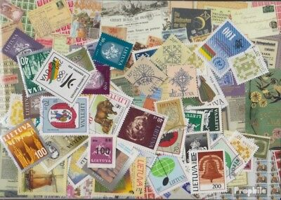 Lithuania 300 different stamps
