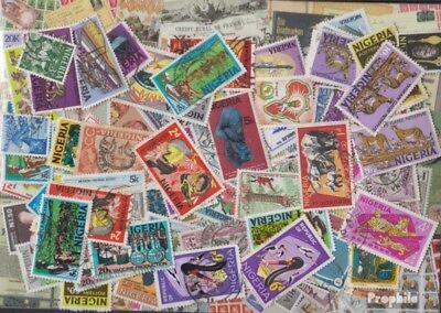 nigeria 500 different stamps