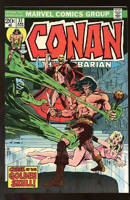 Conan The Barbarian #37 Fine Neal Adams Art 1974
