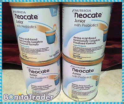8 CANS NEOCATE JR VANILLA  Formula w/ Prebiotics *TRUSTED SELLER*