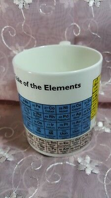 Periodic Table of the Elements collectible mug,  Mclaggan Smith Mugs, Scotland