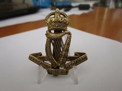 WWI British Army The Royal Irish Regiment KK614 Badge #1628