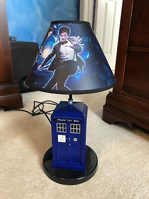 Doctor Who Mini Tardis Night Light Tea Lamp Dr Who Police Box Doctor Who  Tardis Table