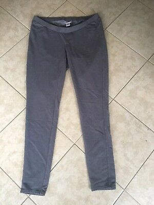 MOTHERHOOD MATERNITY Leggings Size M Gray EXCELLENT!  LOOK!