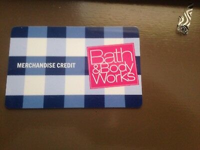 bath and body works gift card 46.24