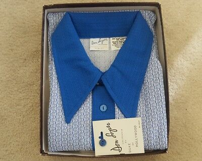 Don Loper-Duke of Hollywood Vintage 60's-70's Shirt, BRAND NEW w/tags, SNAZZY!