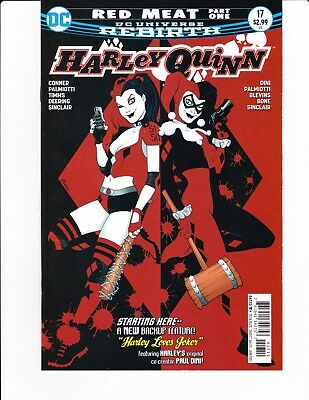 Harley Quinn: Red Meat #17-19 Vf/nm Paul Dini Back Up Story!!