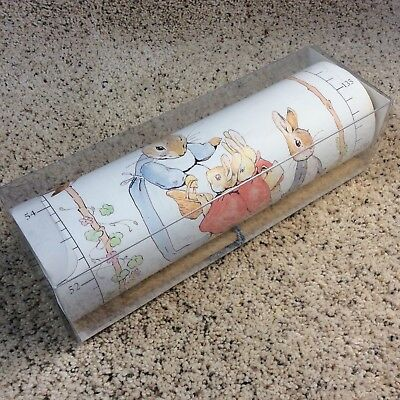 Vintage Beatrix Potter ::GROWTH CHART:: Inches Centimeters New in Box