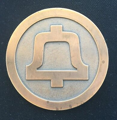 Bell Telephone Systems, End Of An Era, 1983 Medallion