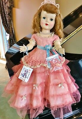 """Vintage 1951 RARE 24"""" American Character Sweet Sue ALL orig Cotillion MINT Doll"""