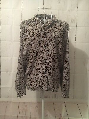 Women's Genuine In Touch Vintage Shirt Sz 16 Unique & Stylish!