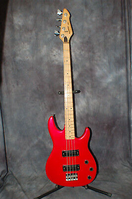 Price Reduced 1991 USA Made Peavey Foundation Bass RED New Strings Stagg Gigbag