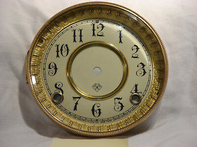 Antique Ansonia Clock Dial and Bezel