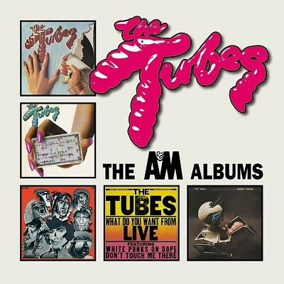 The Tubes - The A&m Albums (Cd Box)  5 Cd New+