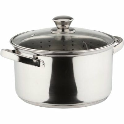 Mainstays 4 Quart Stainless Steel Steamer Pot W 2833 Picclick