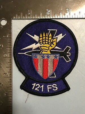 USAF 121st FIGHTER SQUADRON PATCH (AFD-2)