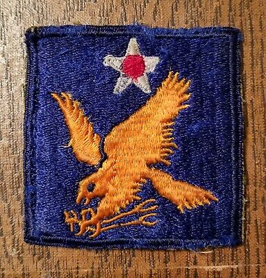 Ww2 Wwii U.s. Army Air Force 2Nd Air Force Patch Usaaf U.s. Army Air Corps
