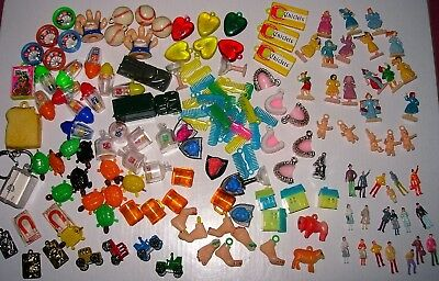 Gumball Charms Toys Assorted Prizes Lot