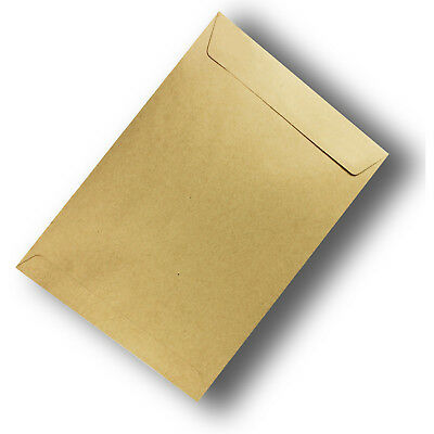 40 x Light Brown ReCycled Envelope C5 Size Self Adhesive Seal 100gsm #S0772 #F1