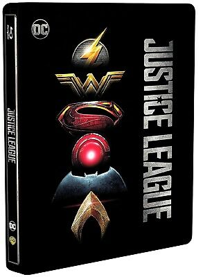 JUSTICE LEAGUE - Edizione Steelbook (BLU-RAY DISC) Gal Gadot, Robin Wright