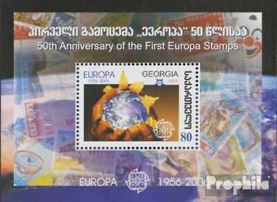 georgia block38 (complete issue) unmounted mint / never hinged 2006 50 years Eur