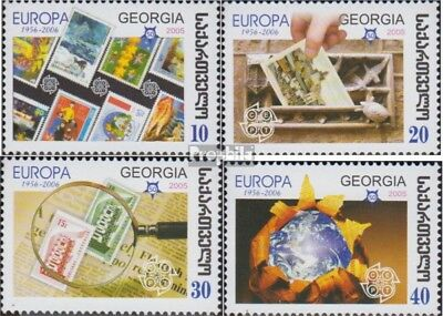 georgia 507A-510A (complete issue) unmounted mint / never hinged 2006 50 years E