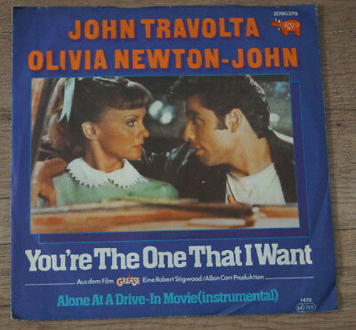 John Travolta und Olivia Newton-John You´re the One that I Want Single