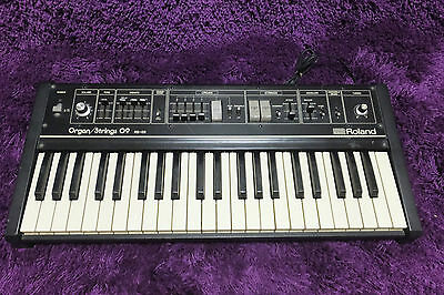 Vintage Roland Organ/Strings RS-09 rs09 synth keyboard AS IS  161004