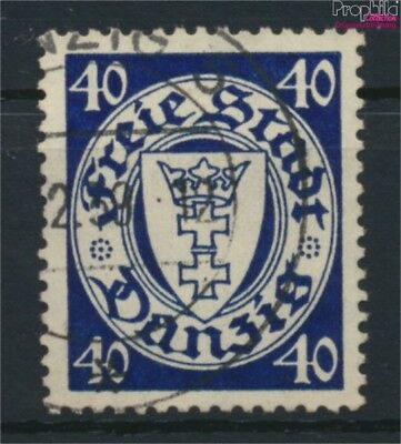 Gdansk 295x fine used / cancelled 1938 Postage stamp, WZ 5 (9045872