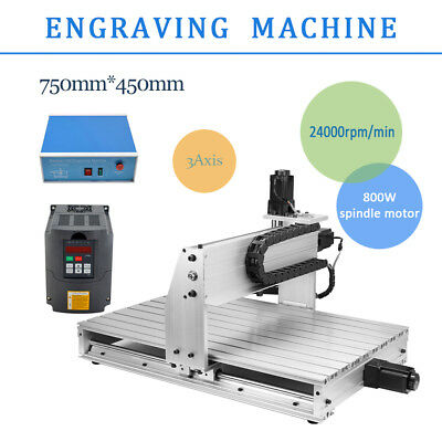3 Axis Desktop CNC Router 6040 Engraver Milling Engraving Drilling Machine Carve