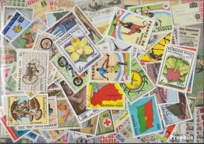 Burkina Faso 100 different stamps