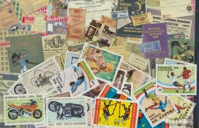 Burkina Faso 25 different stamps