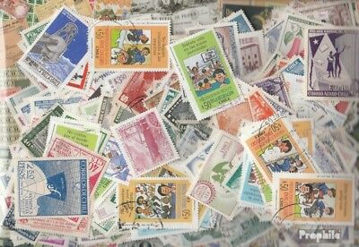 Chile 700 different stamps
