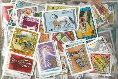 Mongolia 1.000 different stamps