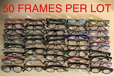 JOBLOT of 50 Used Ready to Wear Reading Glasses Bootsale Goods Market Stock