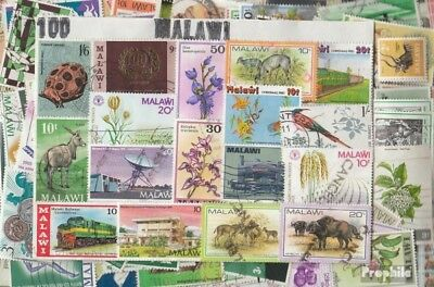 Malawi 500 different stamps
