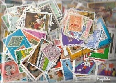 Paraguay 1.500 different stamps