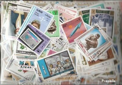 Ajman 1.000 different stamps