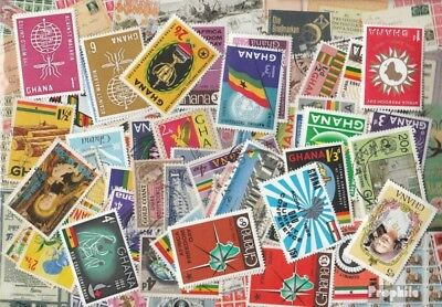 Ghana 250 different stamps