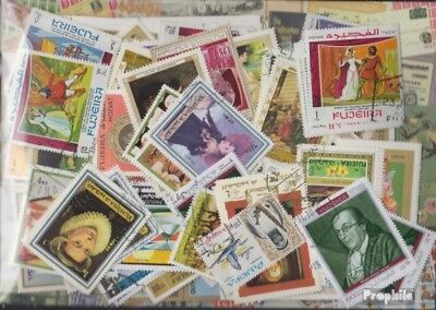 Fujeira 500 different stamps
