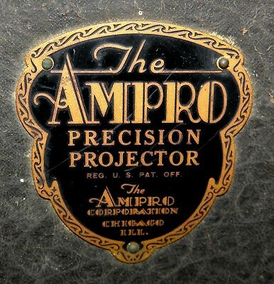 Ampro KS 16mm movie film projector, recently serviced, works great!